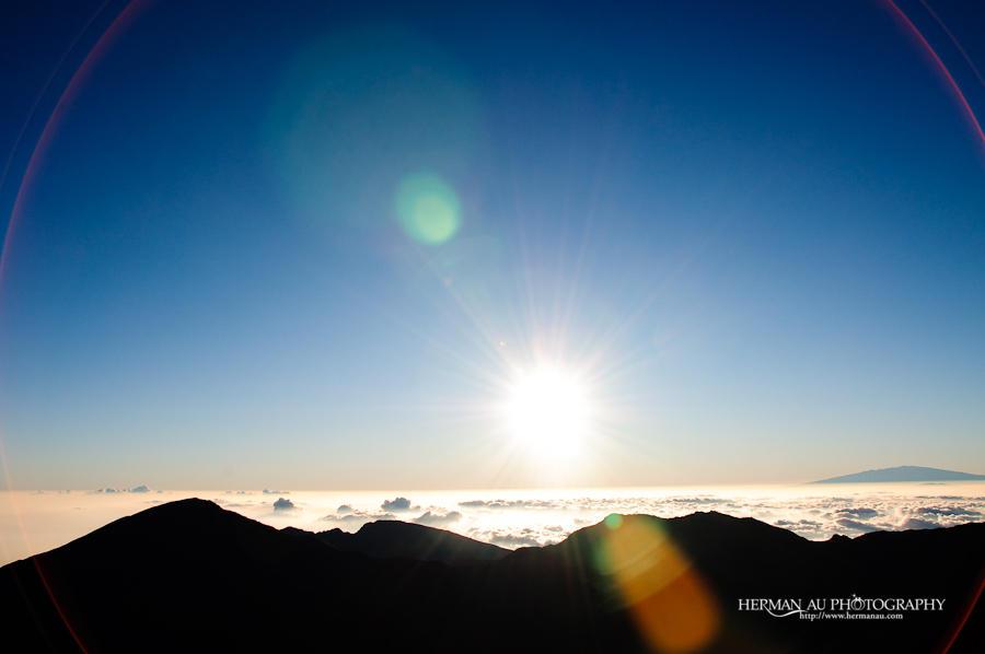 Sunrise at Maui