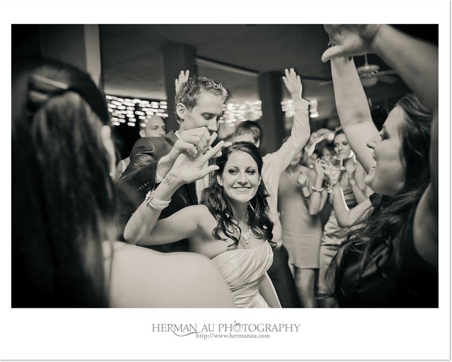 happy bride and groom dancing unobtrusive capturing emotion