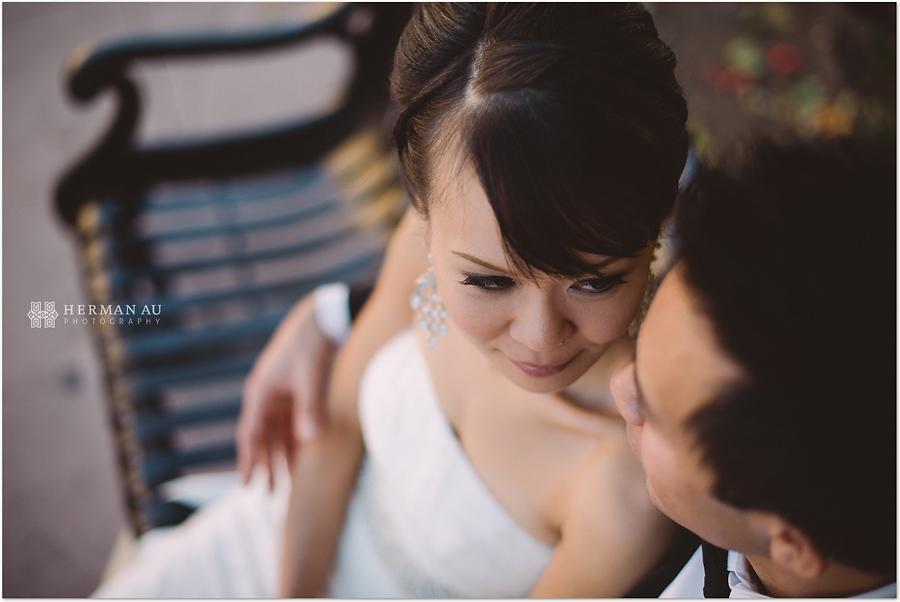 Muoy & Dave wedding san gabriel mission portrait 2