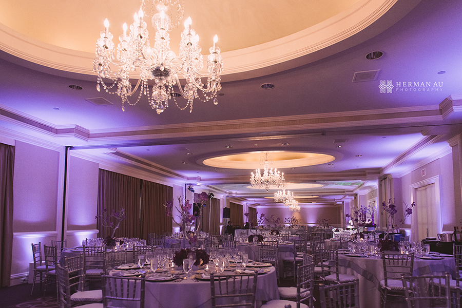 Lammy & Ken Ritz Carlton Laguna Niguel wedding banquet room 1