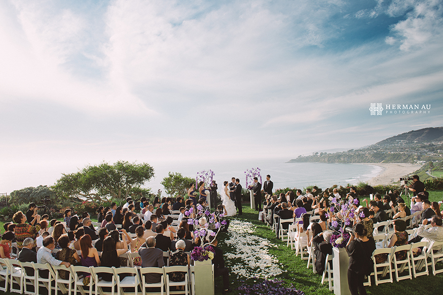 Lammy & Ken Ritz Carlton Laguna Niguel wedding gorgeous view overlook