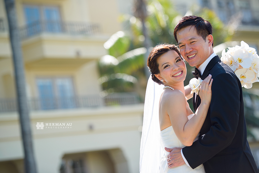 Lammy & Ken Ritz Carlton Laguna Niguel wedding portrait 2
