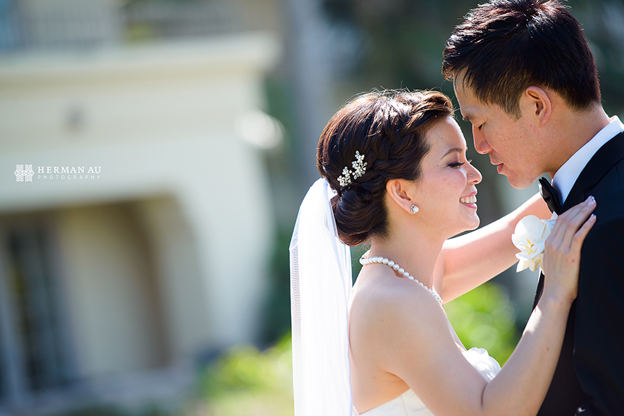 Lammy & Ken Ritz Carlton Laguna Niguel wedding portrait