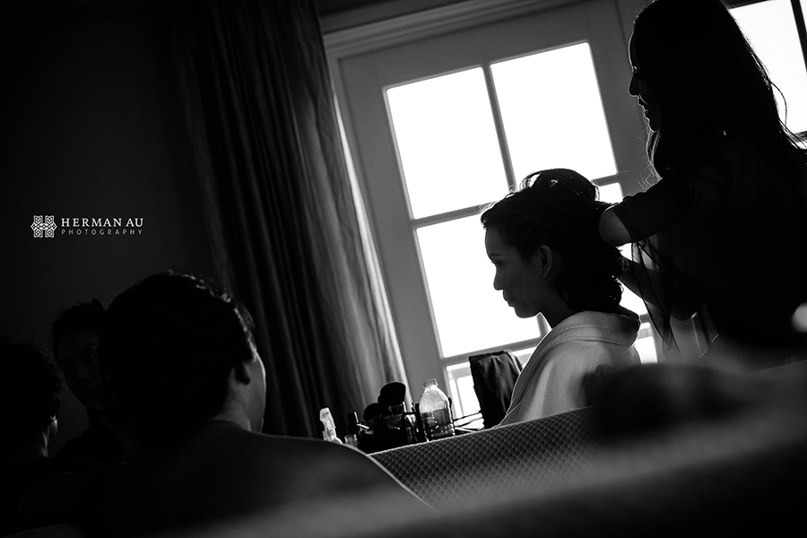 Lammy & Ken Ritz Carlton Laguna Niguel wedding preparation