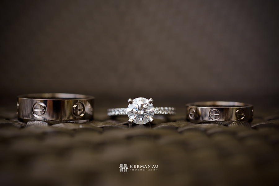 Lammy & Ken Ritz Carlton Laguna Niguel wedding rings