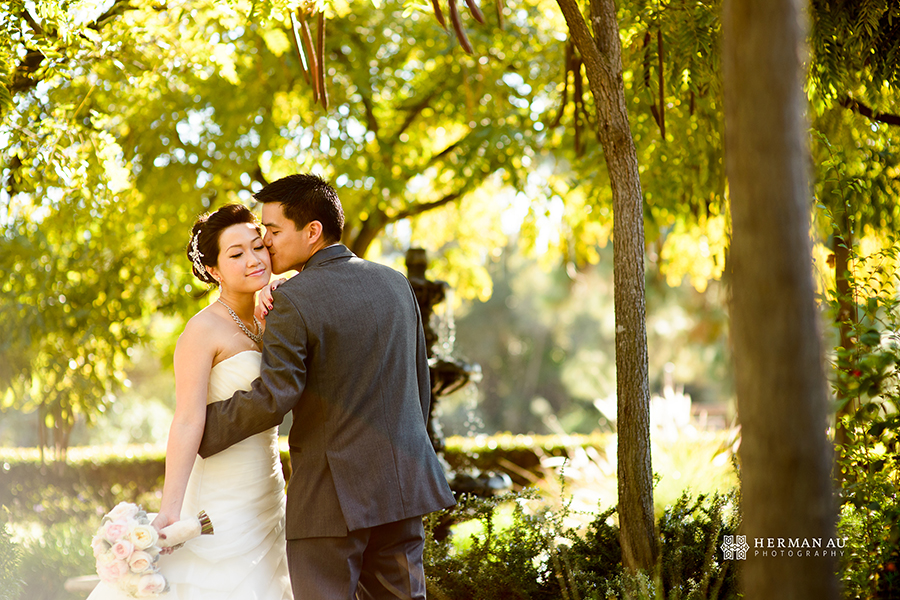 Michelle & William California Country Club bridal portrait 2