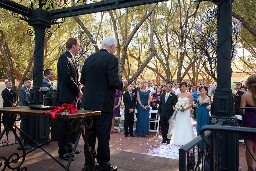 14.Padua Hills Theatre wedding ceremony site