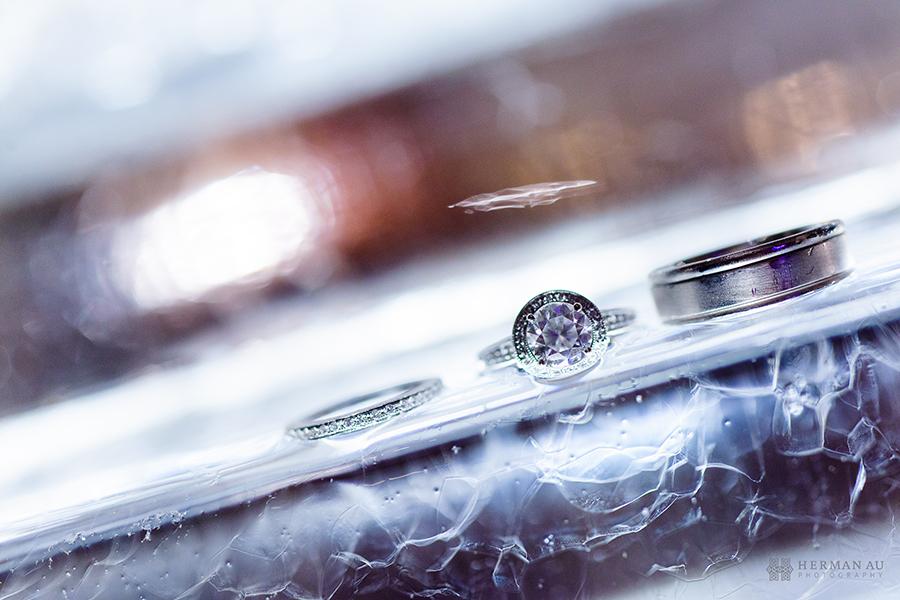 26.Ice Sculpture Ring Shot frozen