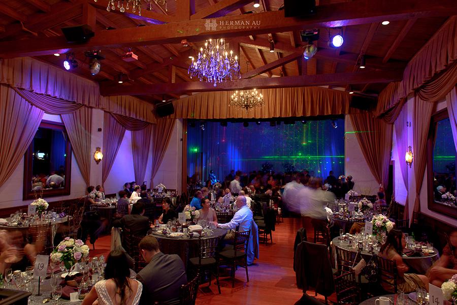30.Padua Hills Theatre reception disco light show