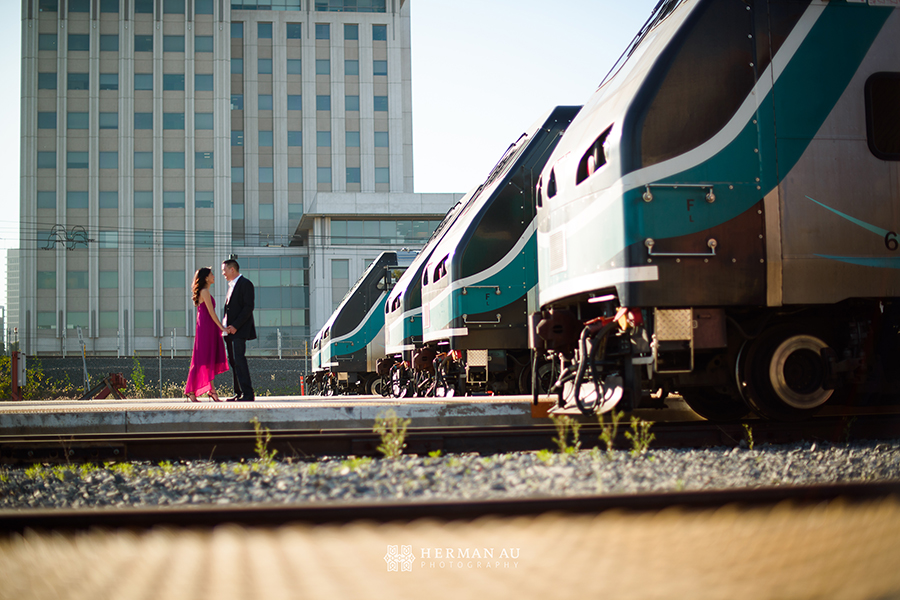 los angeles union station engagement trains