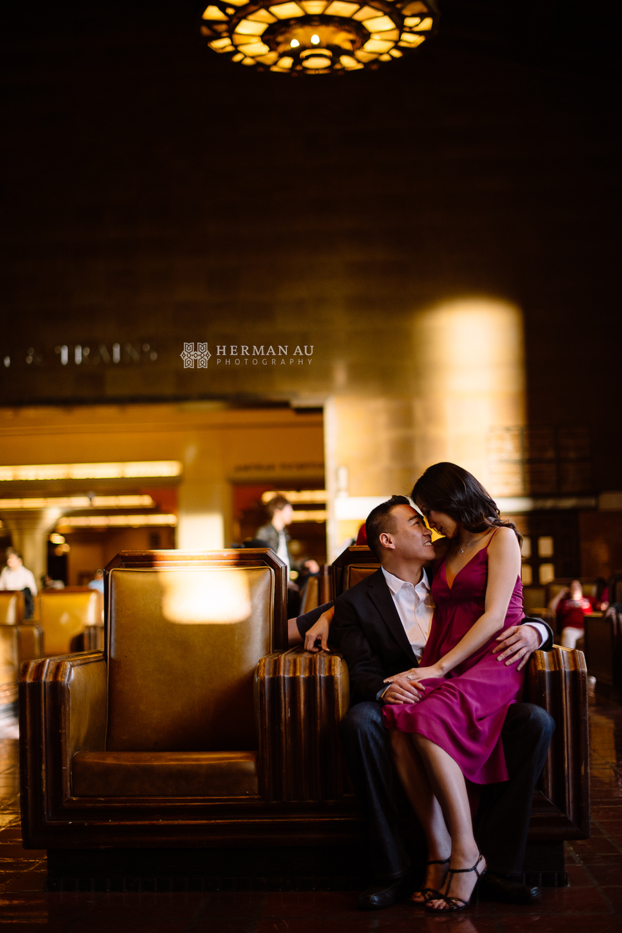 los angeles union station engagement