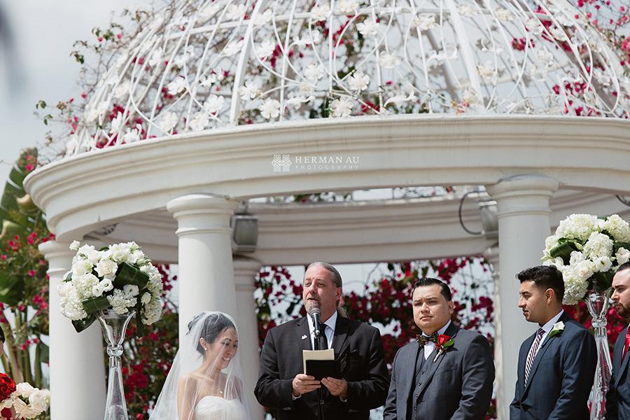 18.San Gabriel Hilton Gazebo Ceremony