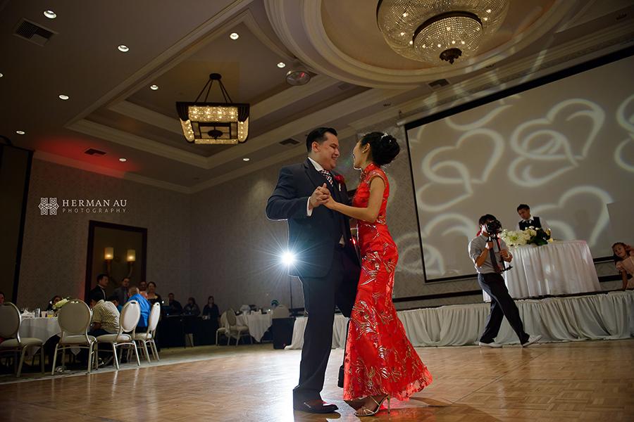 36.San Gabriel Hilton ballroom first dance