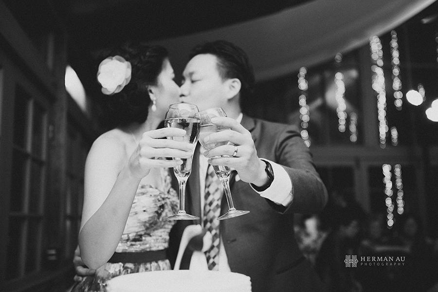 14 cake cutting champaign toast kiss