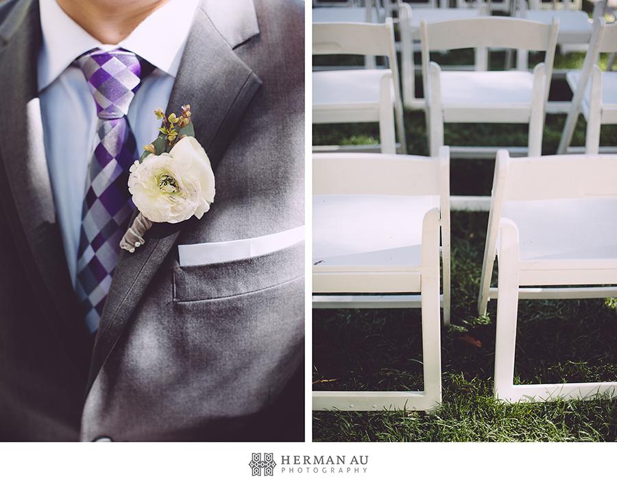 6 groom flower boutonniere