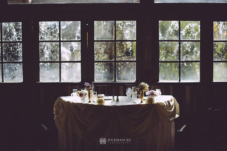 7 Calamigos Ranch Malibu CA banquet room window waterfall