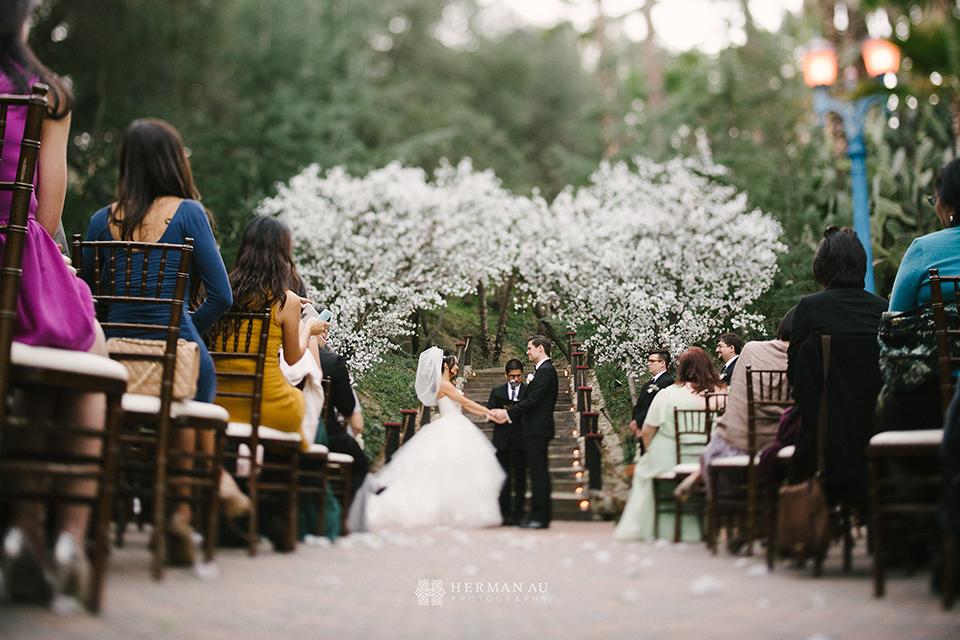 29 Rancho Las Lomas wedding ceremony silverado